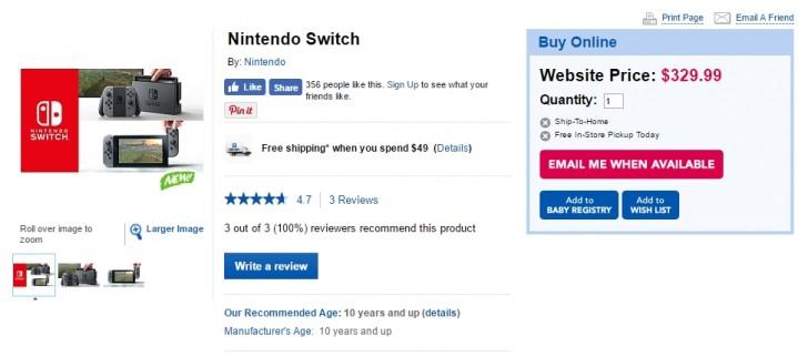 Se filtra el precio de la Nintendo Switch - nintendo-switch-price
