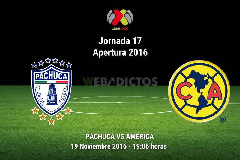 Pachuca vs América, Jornada 17 Apertura 2016 | Resultado: 3-3 - pachuca-vs-america-apertura-2016