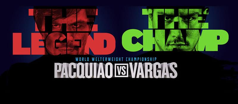 Pelea de Pacquiao vs Vargas este 5 de noviembre ¡Imperdible! - pelea-pacquiao-vs-vargas-2016