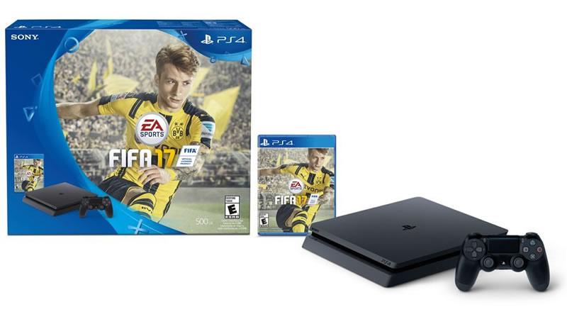 PlayStation 4 Slim 500GB + FIFA 2017, oferta del día en Amazon | Buen Fin 2016 - playstation-4-slim-buen-fin-2016
