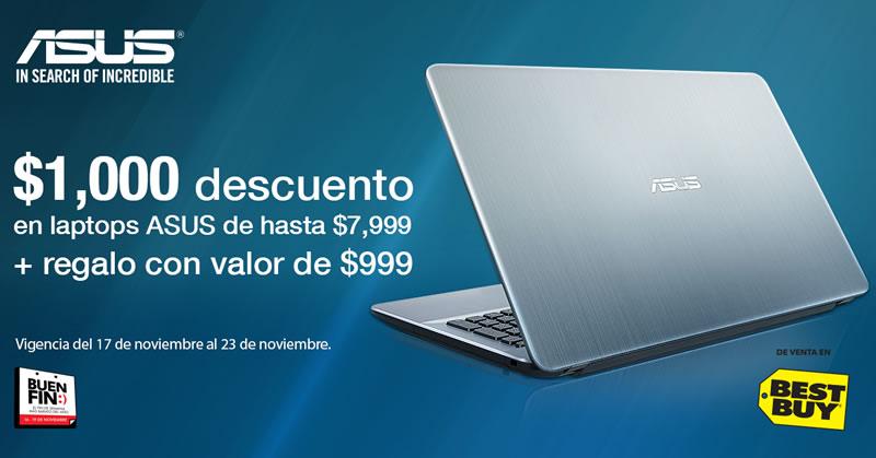 Ofertas en laptops y All In One ASUS en El Buen Fin 2016 - promoiones-laptops-buen-fin-2016