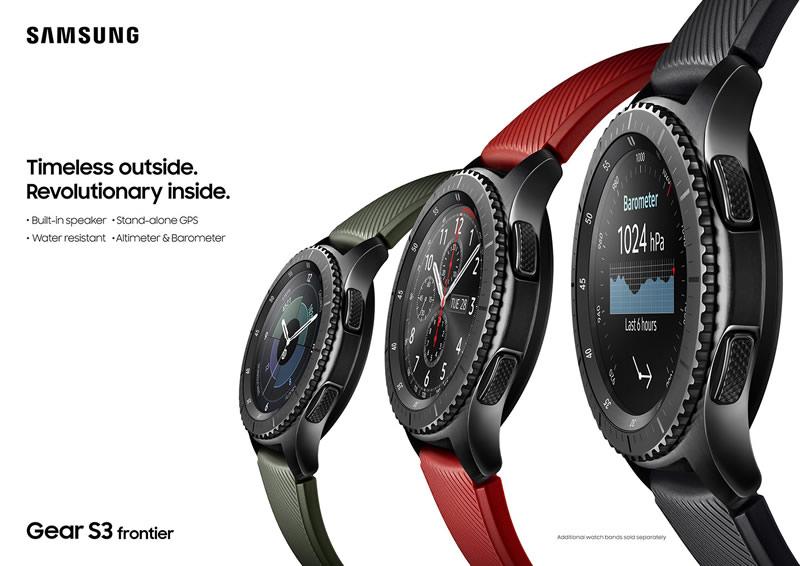 Samsung Gear S3 llegará a México en diciembre - samsung-gear-s3-frontier