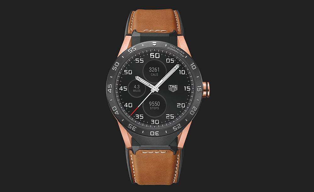 TAG Heuer presenta un smartwatch de 9,900 dólares - tag-heuer-connected-oro-rosa