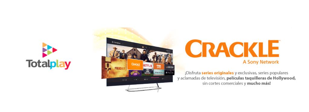 TotalPlay en alianza con Crackle presentan nueva oferta de contenidos - totalplay-crackle