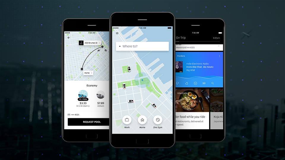 Uber rediseña su aplicación - uber-new-app