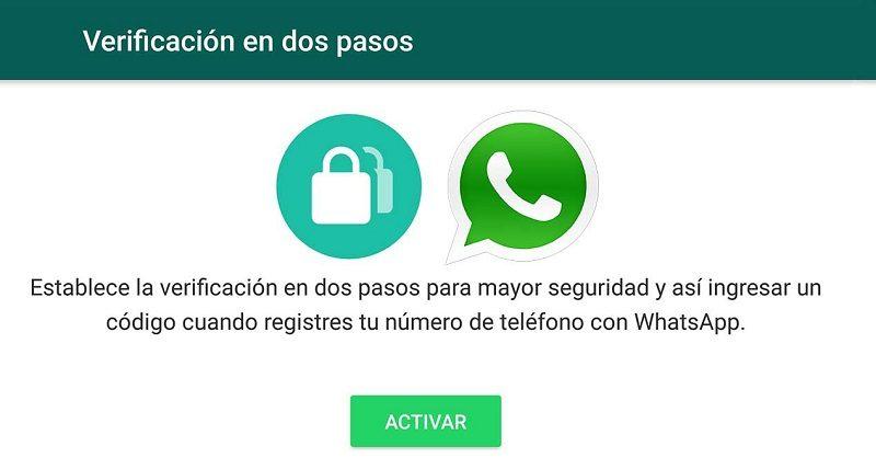 WhatsApp activa la 'Verificación en dos pasos' para 'usuarios beta' - verificacion-en-dos-pasos-whatsapp-800x418
