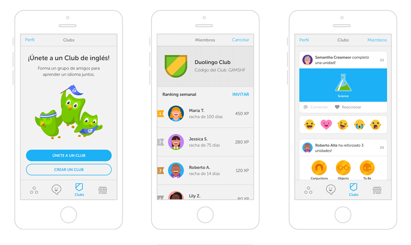 Duolingo lanza grupos para aprender idiomas con tus amigos - aprender-idiomas-grupos-duolingo