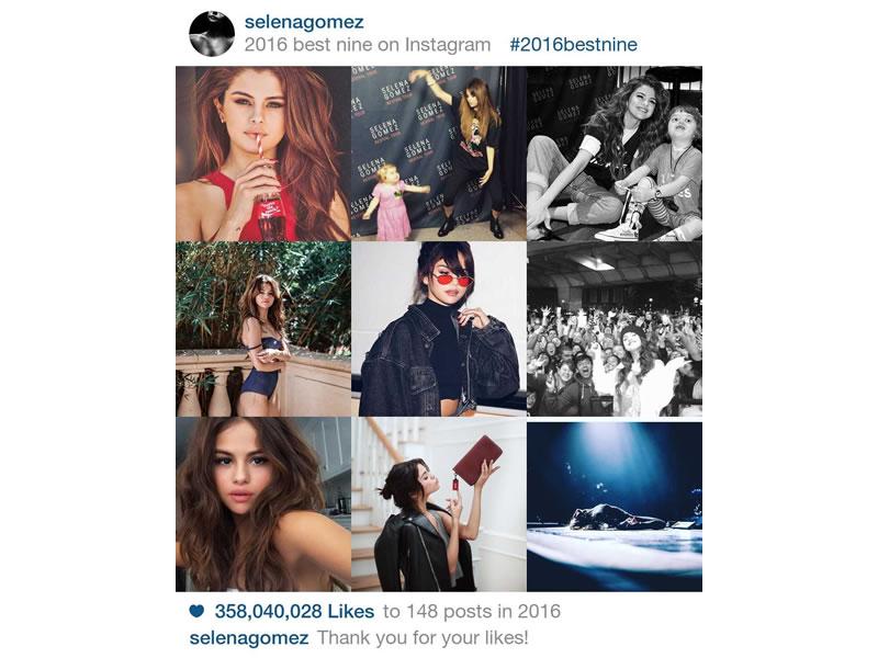 Best Nine, tus fotos más populares de Instagram en 2016 - best-nine-2016