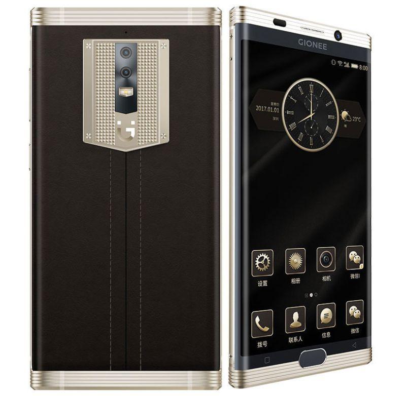 Gionee presenta un teléfono de lujo con batería de 7000mAh - gionee-m2017