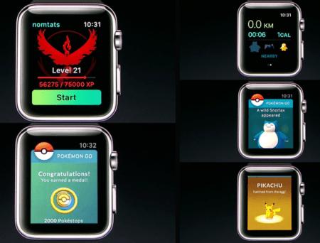 Pokémon GO llega al Apple Watch - pokemon-go-ios-450x342