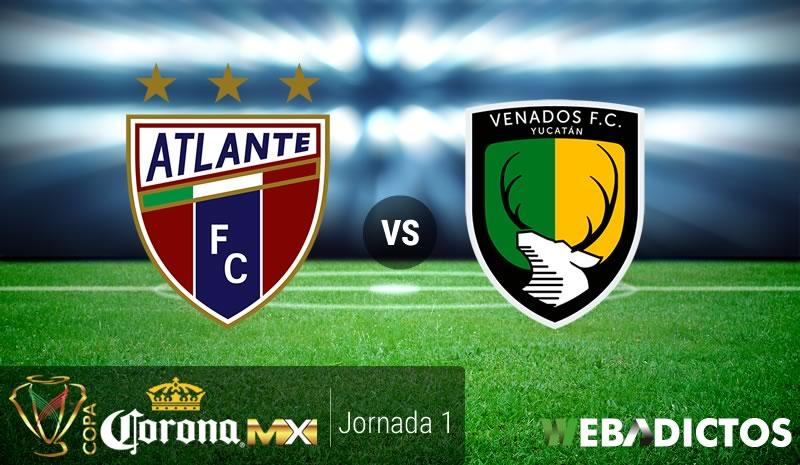 Atlante vs Venados, Jornada 1 Copa MX Clausura 2017   Resultado: 2-0 - atlante-vs-venados-copa-mx-clausura-2017