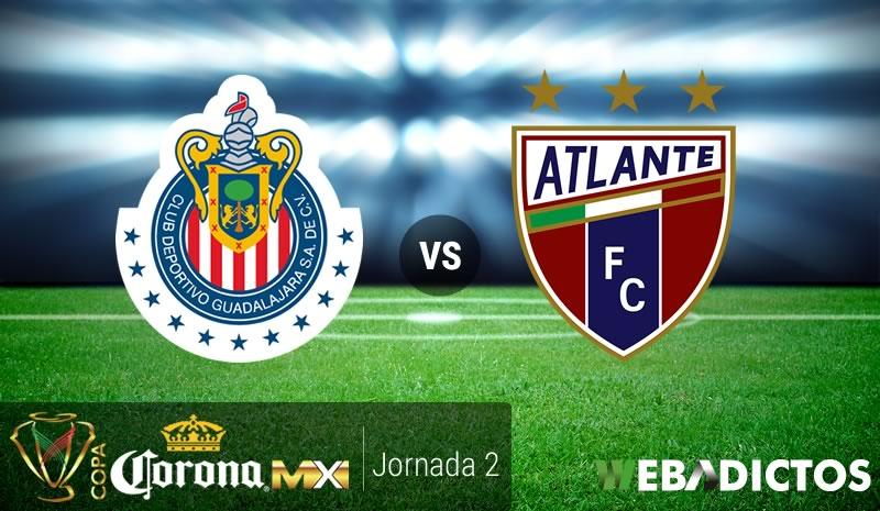 Chivas vs Atlante, J2 de Copa MX Clausura 2017 | Resultado: 1-1 - chivas-vs-atlante-copa-mx-clausura-2017