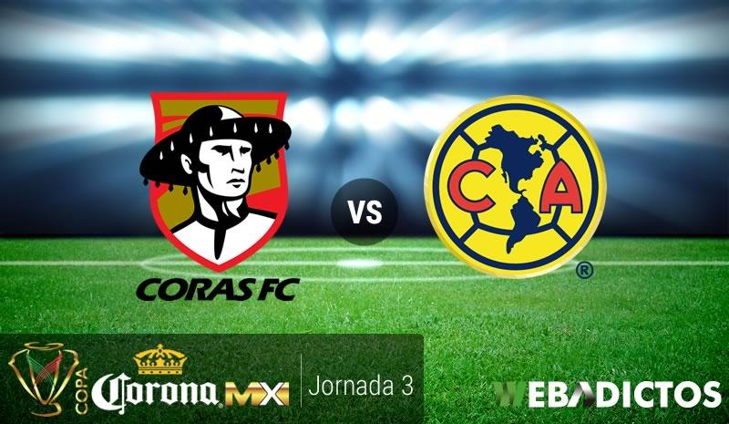 Coras vs América, J3 de Copa MX Clausura 2017 | Resultado: 3-2 - coras-vs-america-j3-copa-mx-clausura-2017