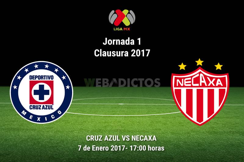 Cruz Azul vs Necaxa, Jornada 1 Clausura 2017 | Resultado: 1-0 - cruz-azul-vs-necaxa-clausura-2017