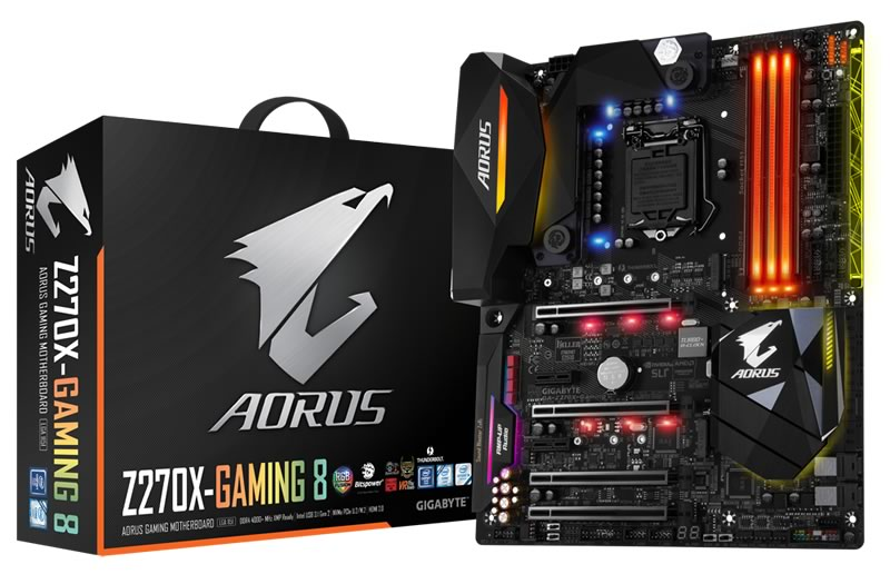 GIGABYTE presentó sus nuevos productos en el CES 2017 - gigabyte-aorus-gaming
