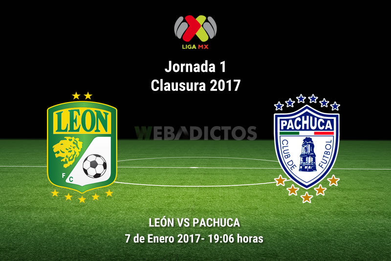 leon vs pachuca clausura 2017 León vs Pachuca, Jornada 1 del Clausura 2017 | Resultado: 2 4