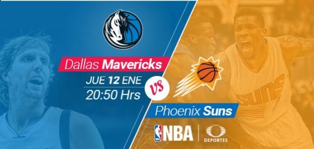 Mavericks de Dallas vs Suns de Phoenix, NBA en México 2017 - mavericks-de-dallas-vs-suns-de-phoenix-nba-mexico-2017