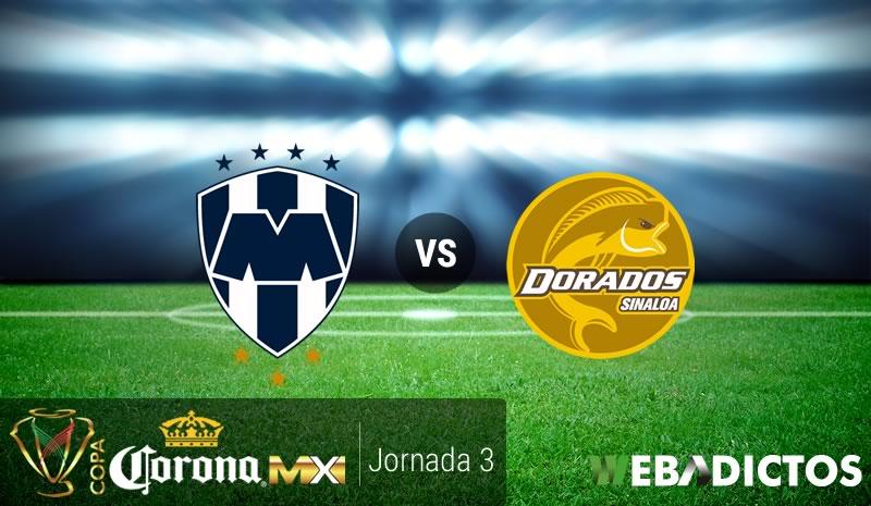 Monterrey vs Dorados, Fecha 3 Copa MX C2017   Resultado: 5-0 - monterrey-vs-dorados-j3-copa-mx-clausura-2017