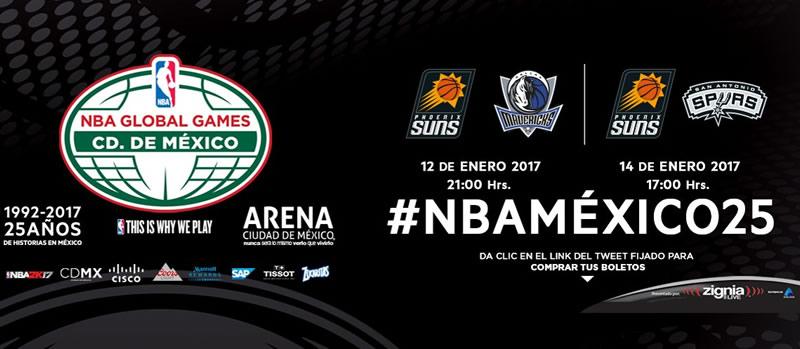 A qué hora son los juegos de la NBA en México 2017 y en qué canal verlos - nba-en-mexico-2017-nbamexico25