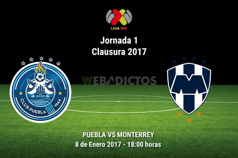 Puebla vs Monterrey, Jornada 1 del Clausura 2017 | Resultado: 2-3 - puebla-vs-monterrey-clausura-2017