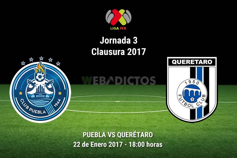 Puebla vs Querétaro, Jornada 3 del Clausura 2017 | Resultado: 0-0 - puebla-vs-queretaro-j3-clausura-2017