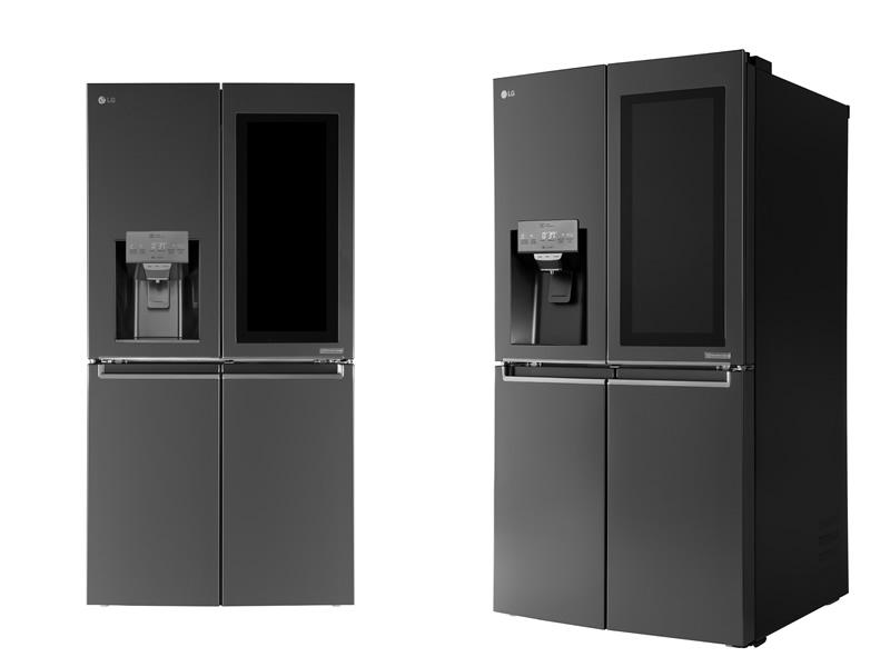 LG presenta su refrigerador Smart Instaview con Web OS en CES 2017 - refriferador-lg-smart-instaview