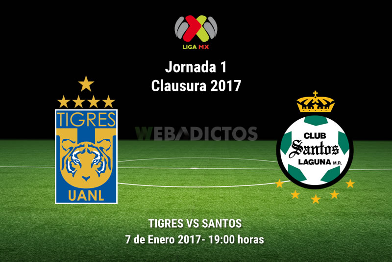 tigres vs santos clausura 2017 Tigres vs Santos, Jornada 1 del Clausura 2017 | Resultado: 0 0