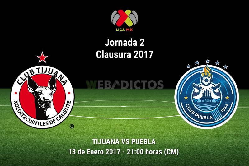 Tijuana vs Puebla, Jornada 2 del Clausura 2017   Resultado: 6-2 - xolos-tijuana-vs-puebla-clausura-2017