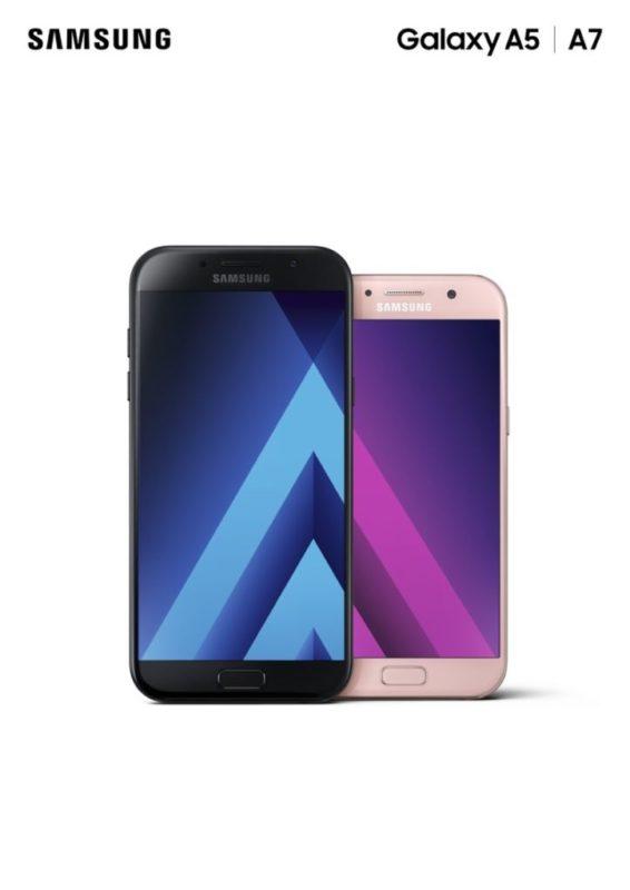 Galaxy A 2017 de Samsung llegan a México - 04_galaxy_a7-blacka5-peach_combo_1p-566x800