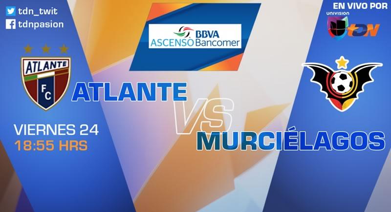 Atlante vs Murciélagos, Jornada 10 Clausura 2017 | Resultado: 0-1 - atlante-vs-murcielagos-clausura-2017-en-vivo-tdn