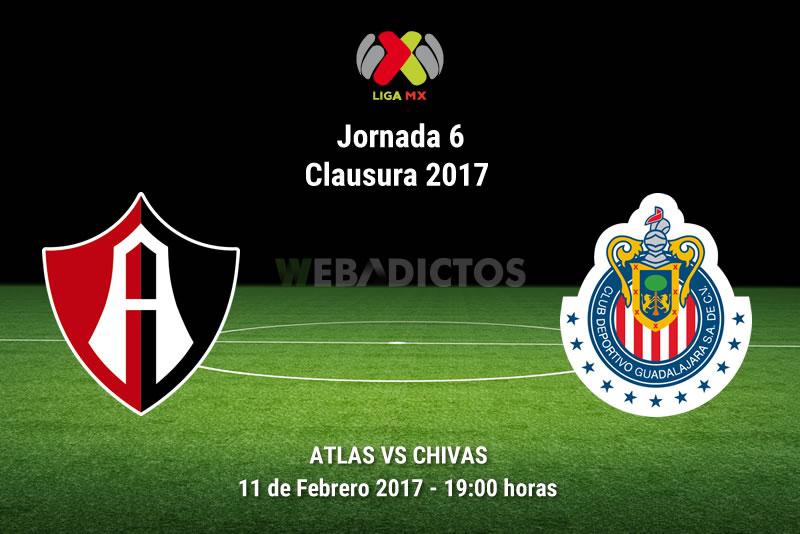 Atlas vs Chivas, J6 Clausura 2017 | Resultado: 1-2 - atlas-vs-chivas-j6-del-clausura-2017