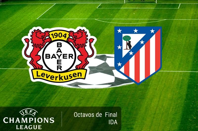 Bayer Leverkusen vs Atlético Madrid, Champions 2017 | Resultado: 2-4 - bayer-leverkusen-vs-atletico-madrid-octavos-champions-2017