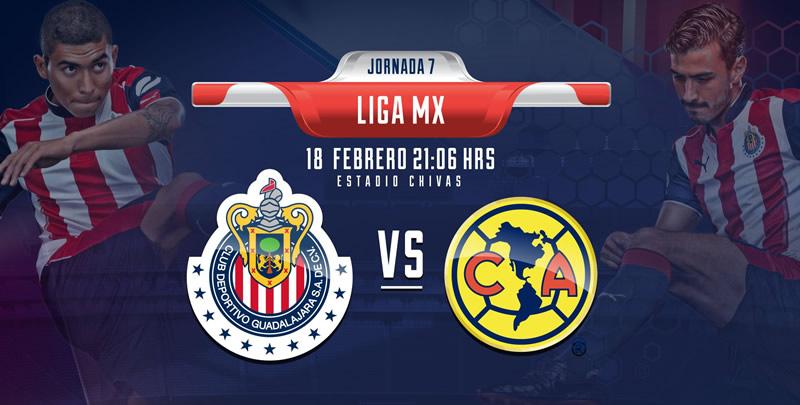 Horario Chivas vs América y por dónde verlo; Jornada 7 del Clausura 2017 - chivas-vs-america-chivas-tv-j7-clausura-2017