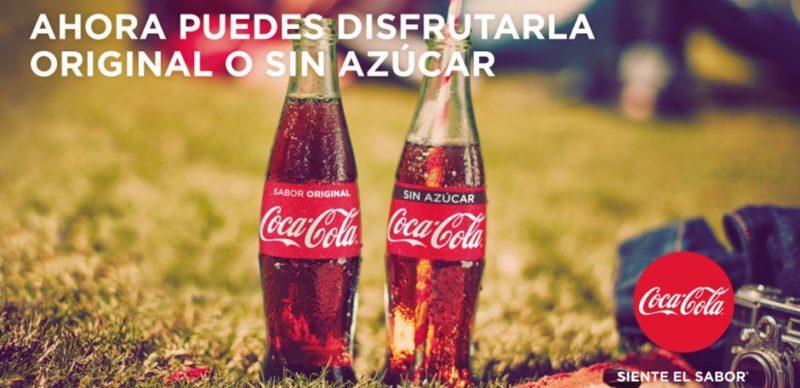Coca-Cola Sin Azúcar, el nuevo producto que sustituye a Coca Zero - coca-cola-sin-azucar_1-800x388