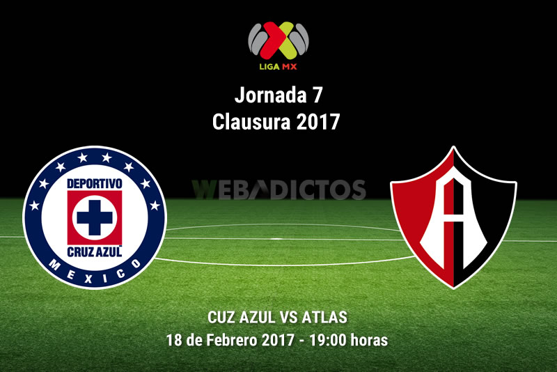 Cruz Azul vs Atlas, Jornada 7 del Clausura 2017   Resultado: 0-1 - cruz-azul-vs-atlas-j7-clausura-2017