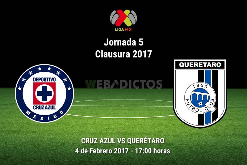 Cruz Azul vs Querétaro, Jornada 5 del Clausura 2017 | Resultado: 1-1 - cruz-azul-vs-queretaro-j5-clausura-2017