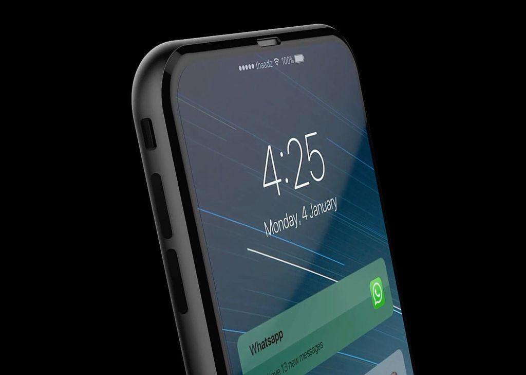 Los nuevos iPhone tendrán carga inalámbrica - iphone-8-concept