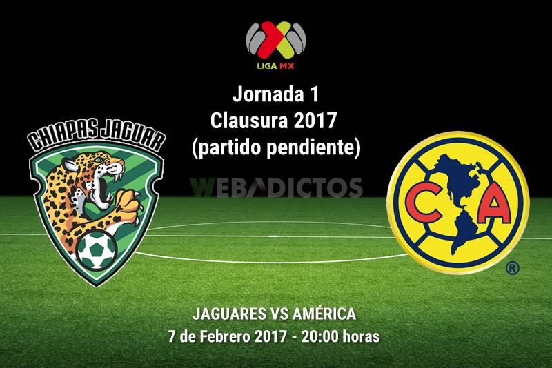 Jaguares vs América, J1 del Clausura 2017 | Resultado: 2-0 - jaguares-vs-america-j1-clausura-2017