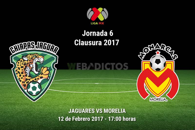 Jaguares vs Morelia, J6 Clausura 2017   Resultado: 1-2 - jaguares-vs-morelia-j6-del-clausura-2017