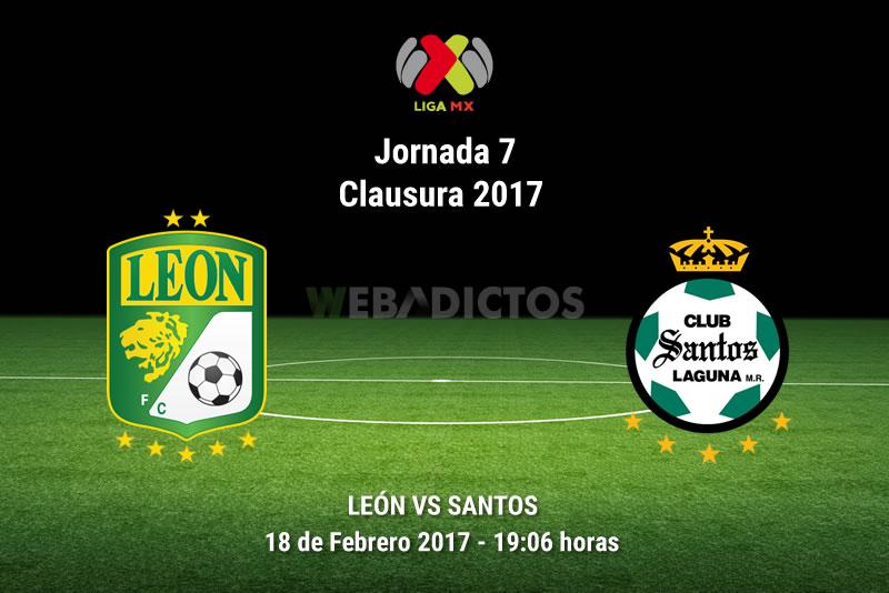 León vs Santos, Jornada 7 del Clausura 2017 | Resultado: 2-2 - leon-vs-santos-j7-clausura-2017
