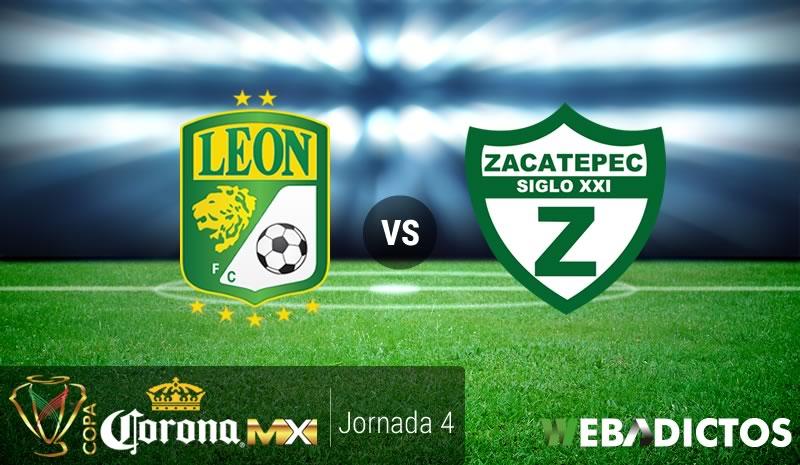 León vs Zacatepec, J4 de Copa MX Clausura 2017 | Resultado: 4-0 - leon-vs-zacatepec-j4-copa-mx-clausura-2017