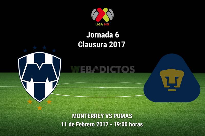 Monterrey vs Pumas, Jornada 6 del Clausura 2017 | Resultado: 2-0 - monterrey-vs-pumas-j6-del-clausura-2017