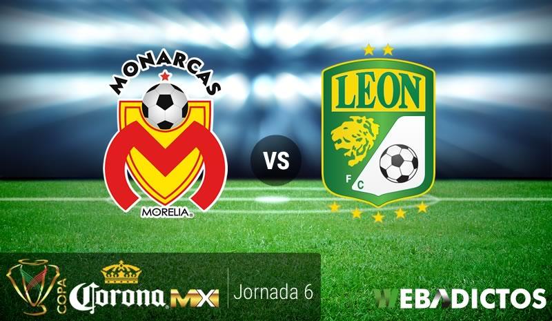Morelia vs León, J6 Copa MX Clausura 2017   Resultado: 2-3 - morelia-vs-leon-j6-copa-mx-clausura-2017