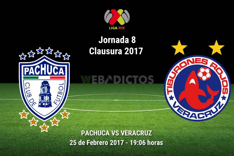 Pachuca vs Veracruz, Fecha 8 del Clausura 2017 | Resultado: 1-0 - pachuca-vs-veracruz-j8-clausura-2017