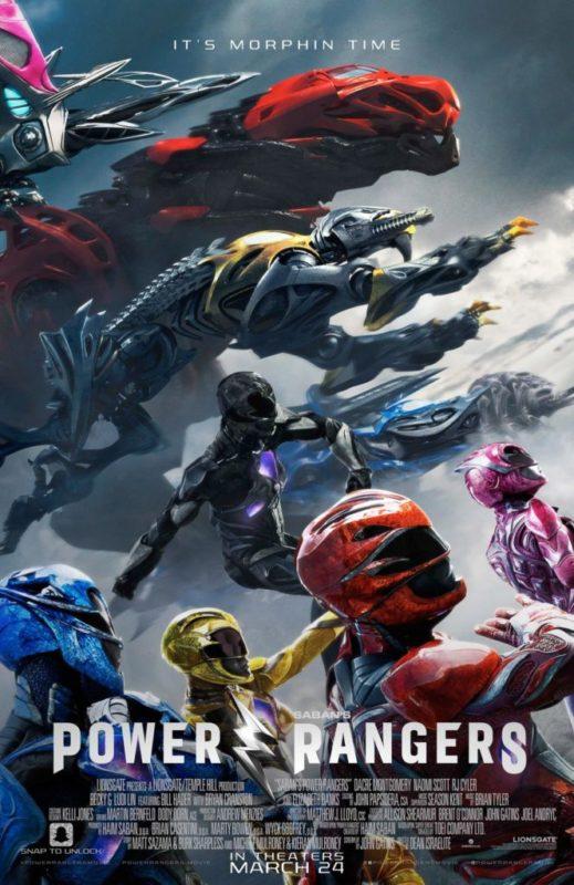 Lanzamiento nueva línea de juguetes Power Rangers Movie - power-rangers-movie-519x800