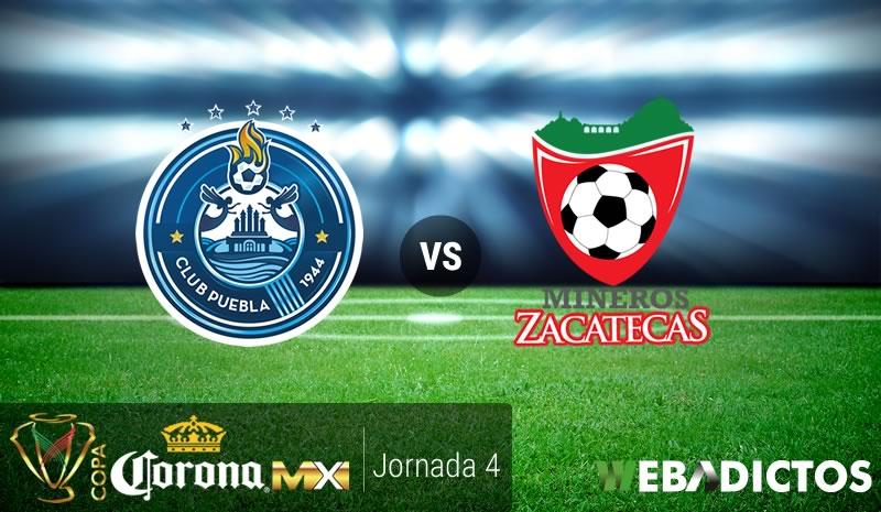 Puebla vs Mineros, Jornada 4 de Copa MX C2017 | Resultado: 1-0 - puebla-vs-mineros-j4-copa-mx-clausura-2017