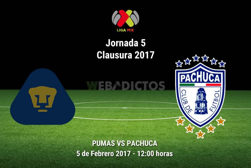 Pumas vs Pachuca, Jornada 5 del Clausura 2017   Resultado: 1-1 - pumas-vs-pachuca-j5-clausura-2017