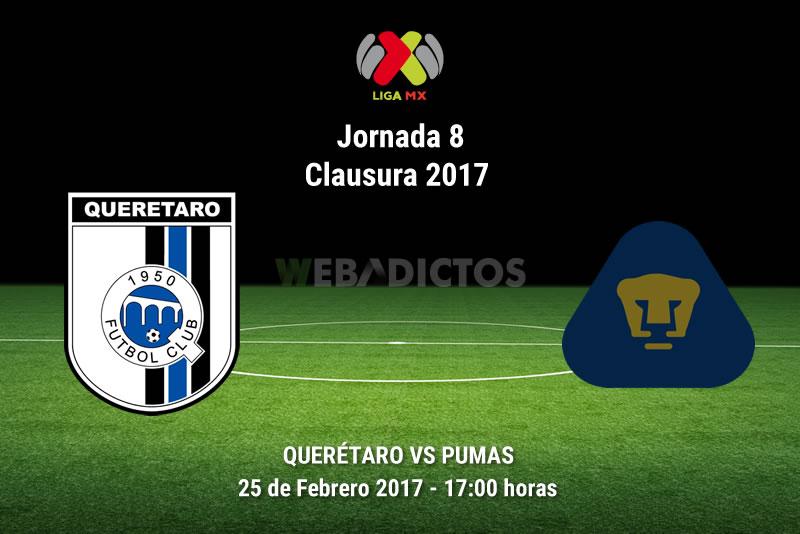 Querétaro vs Pumas, Jornada 8 del Clausura 2017 | Resultado: 4-3 - queretaro-vs-pumas-j8-clausura-2017