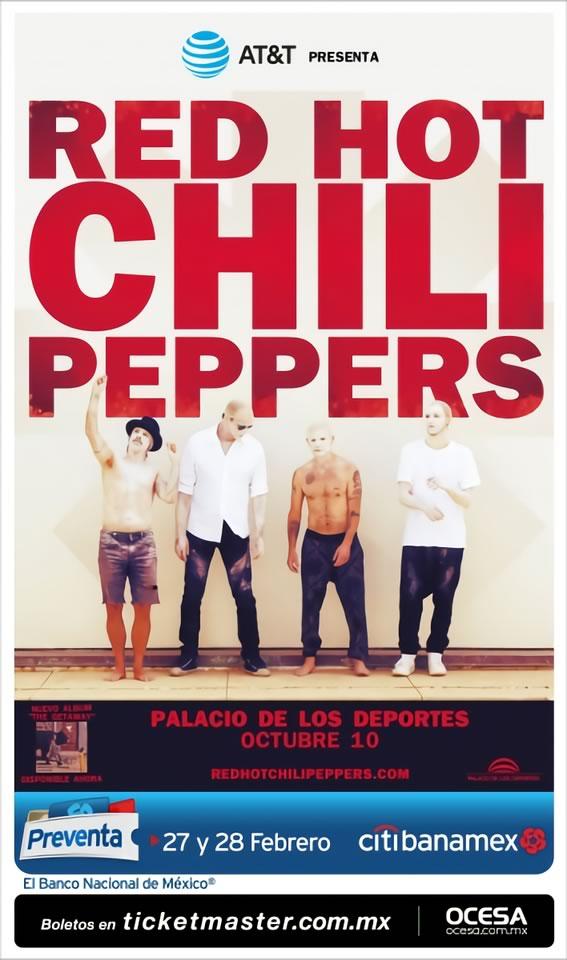 Red Hot Chili Peppers regresan a México en octubre 2017 - red-hot-chili-peppers-mexico-2017