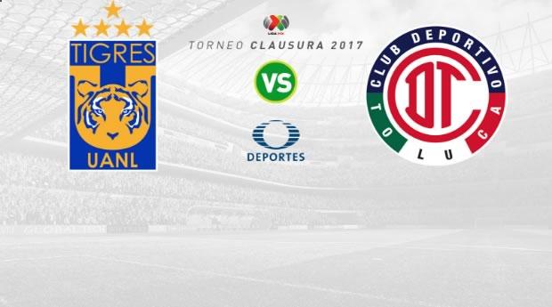 Tigres vs Toluca, Fecha 5 Clausura 2017 | Resultado: 0-1 - tigres-vs-toluca-j5-clausura-2017-en-vivo